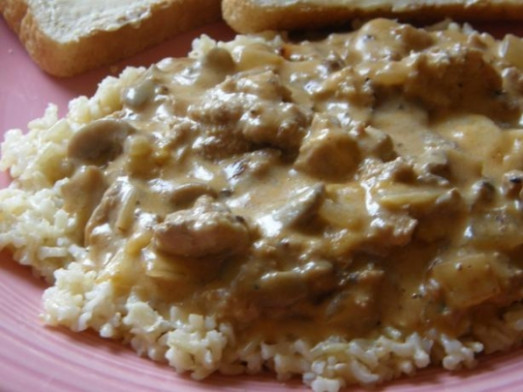 Simple Ground Chicken Stroganoff Recipe | KeepRecipes ..