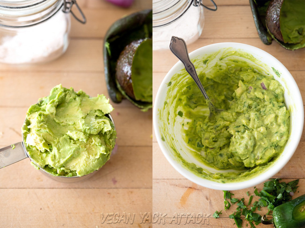 Simple Guacamole - Nachos Recipes Vegetarian