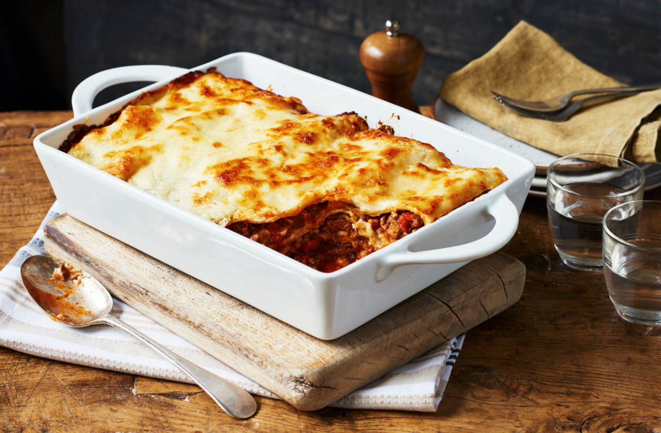 Simple lasagne - food recipes easy