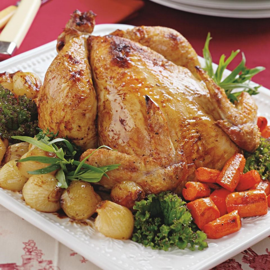 Simple Roast Chicken Recipe - EatingWell - Chicken Recipes Roasted