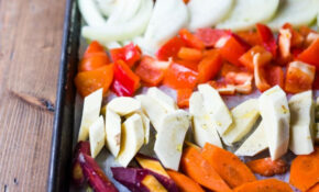 Simple Roasted Vegetables | Healthy & Delicious! | Feasting ..