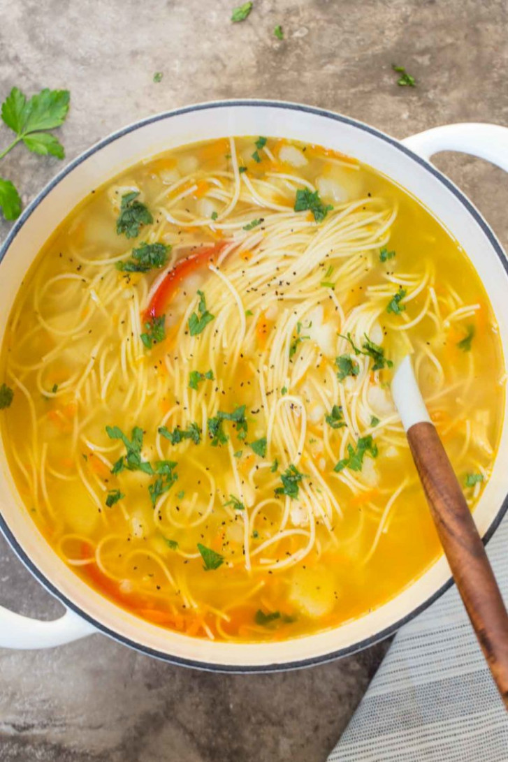 Simple Russian Soup - Valentina's Corner - Russian Recipes Dinner