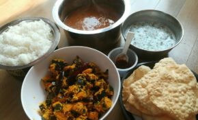 Simple South Indian Veg Lunch Recipe | South Indian Veg ..