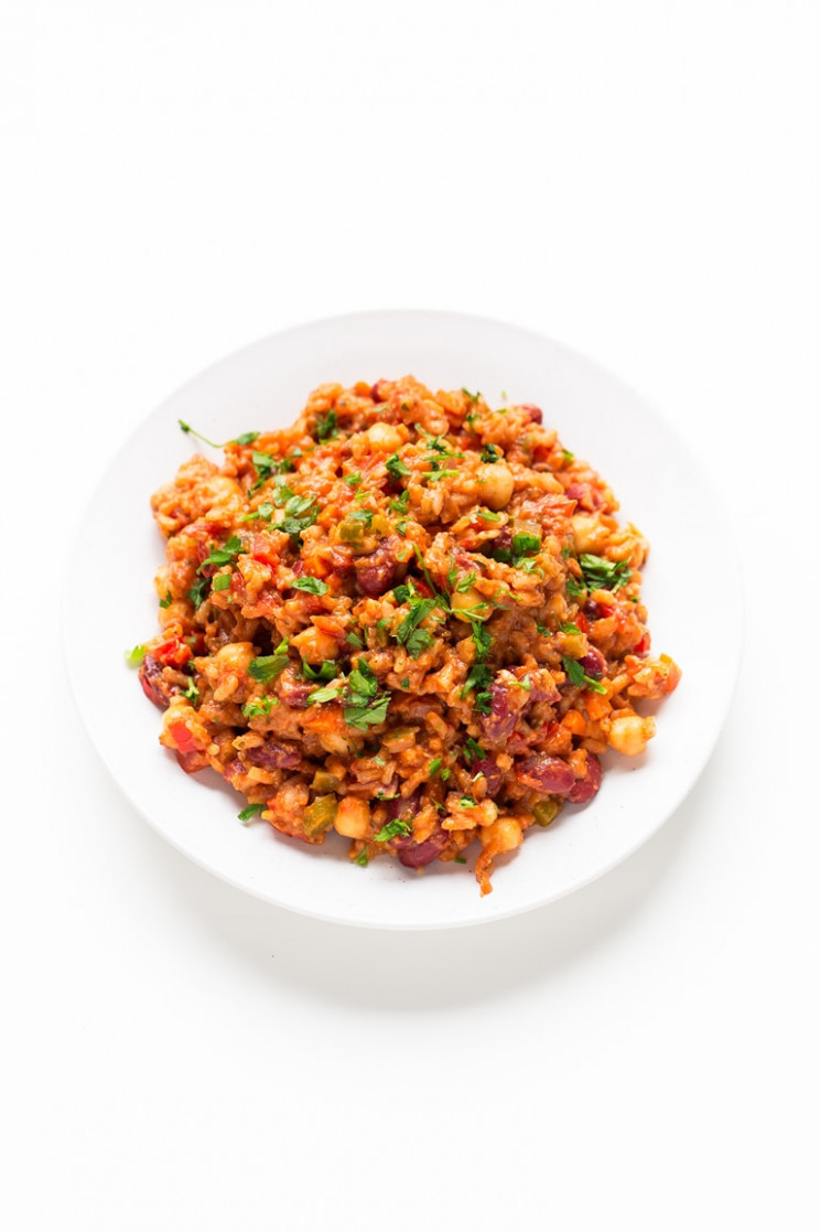 Simple Vegan Jambalaya - Simple Vegan Blog - what are the best dinner recipes