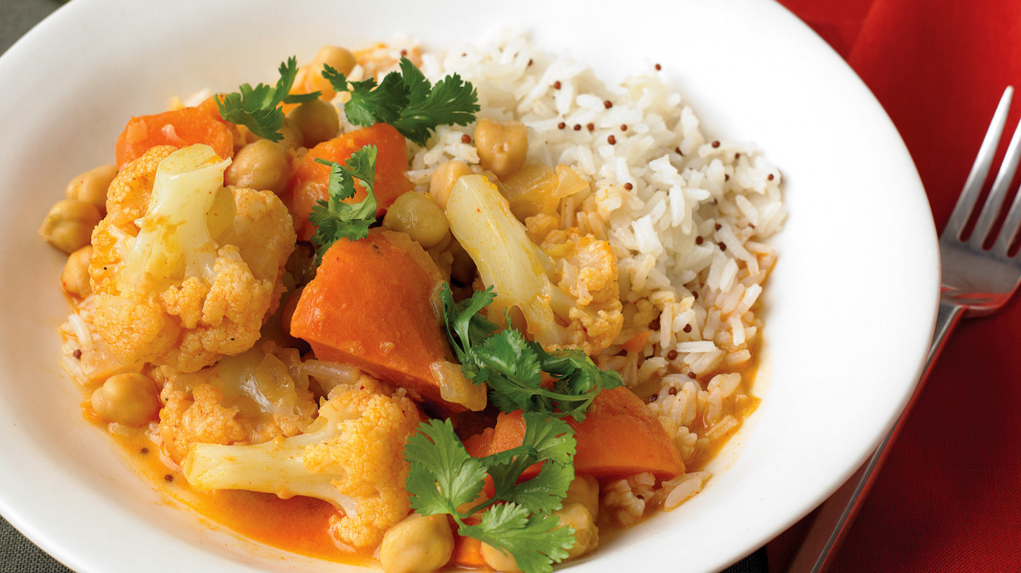 Simple Vegetable Curry - recipes for vegetarian curry