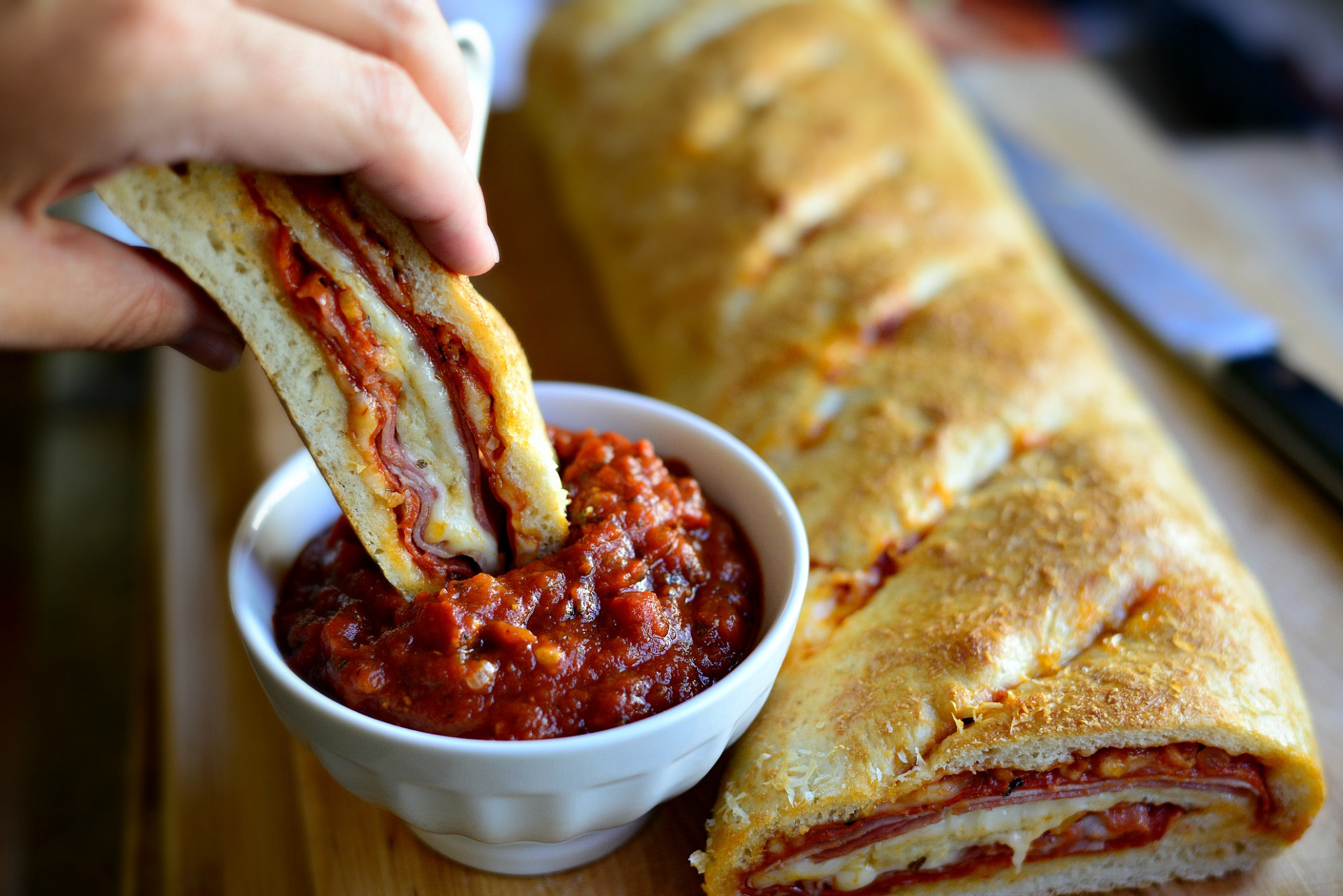 Simply Scratch Homemade Stromboli - Simply Scratch - food recipes homemade