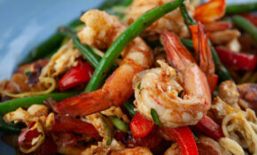 Singapore Prawn Zoodles – Dinner Recipes With Zoodles