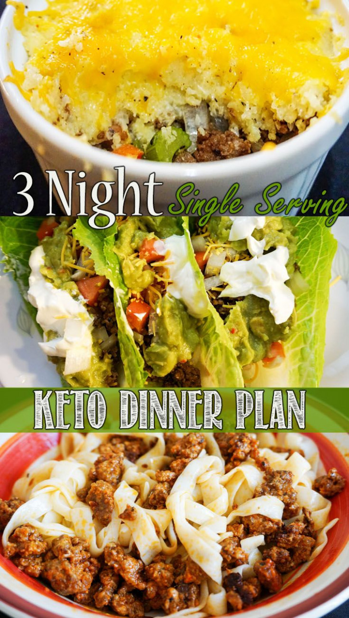 Single Serve Keto Dinners! | KetoConnect Recipes ..