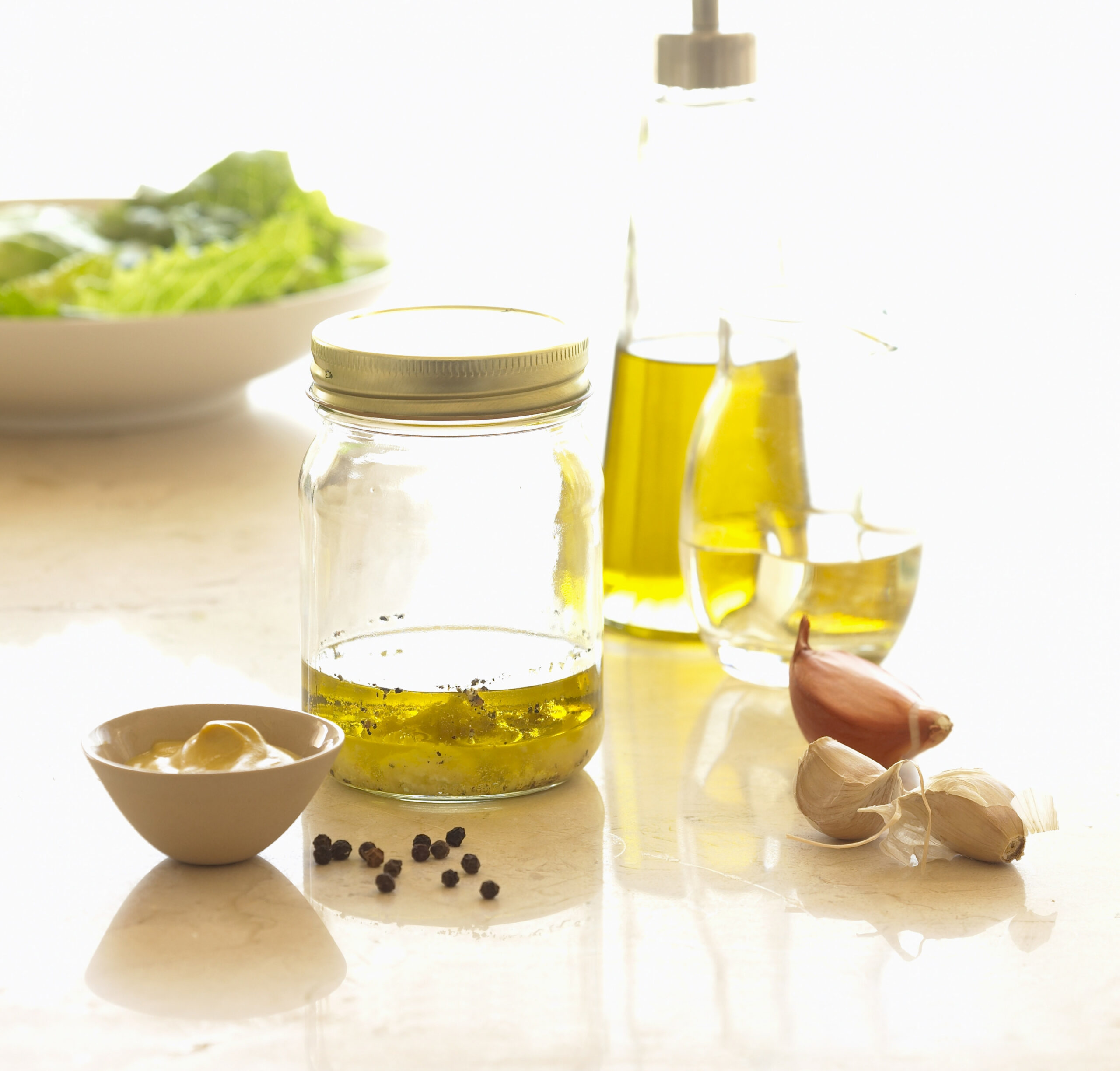 Six Healthy Reasons To Make Your Own Salad Dressing And An ..