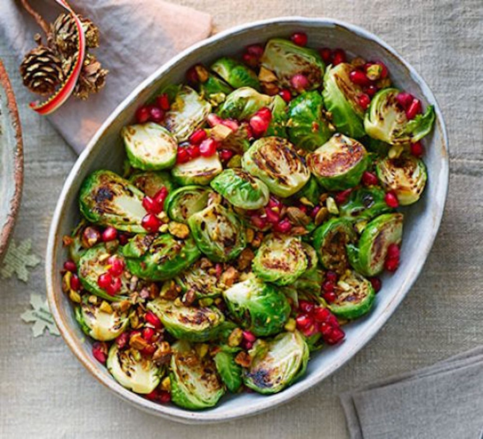 Sizzled Sprouts Bbc Good Food - Green Queen - Bbc Good Food Recipes