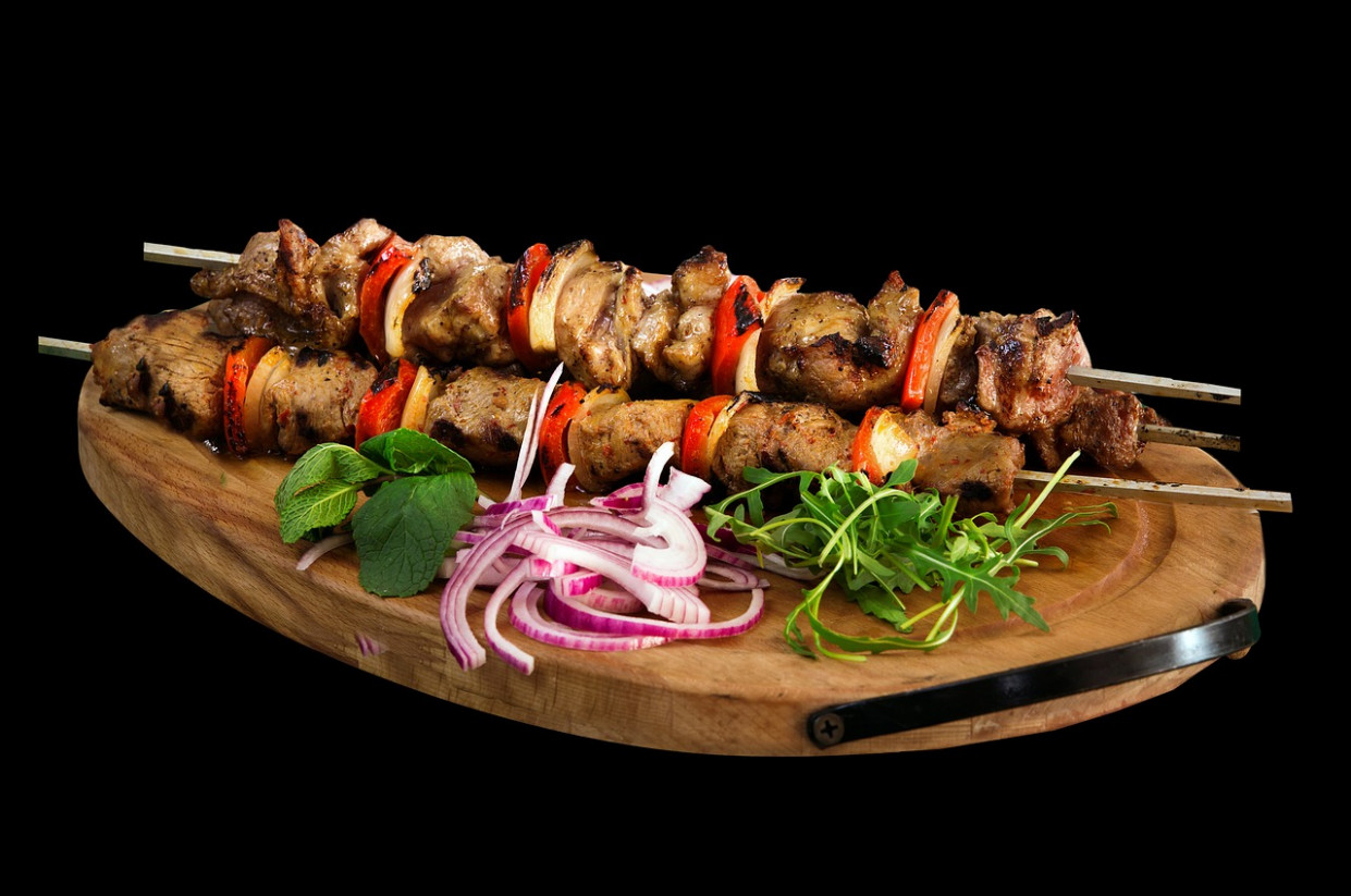 Skewer, Kebab, Barbecue, Food, Meat - recipes dinner italian
