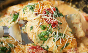 Skillet Chicken With Sun Dried Tomato Cream Sauce – Chicken Recipes With Tomatoes