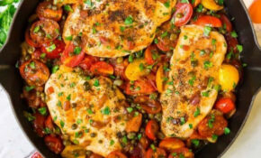 Skillet Tomato Chicken | Well Plated By Erin – Healthy Recipes Chicken Breast