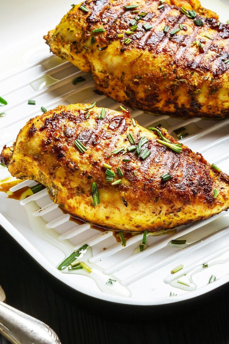 Skinny Balsamic Chicken with Herbs Recipe - Low Calorie ..