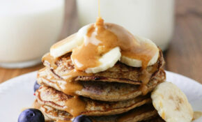 Skinny Banana Blueberry Pancakes – Dinner Recipes Low Fat