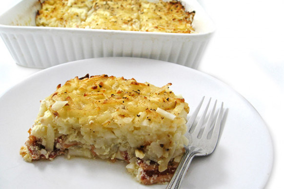 Skinny Hash Browns, Bacon and Eggs Breakfast Casserole ..