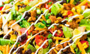 Skinny Taco Salad – Healthy Recipes Ground Chicken