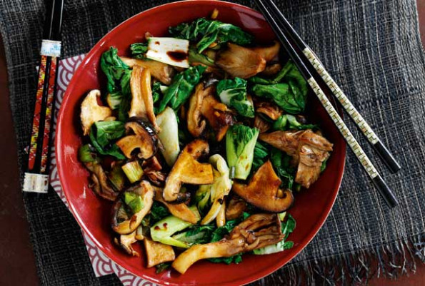Slimming World's oriental mushroom stir-fry recipe ..