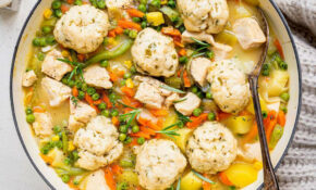 Slimming World Chicken Casserole with Dumplings
