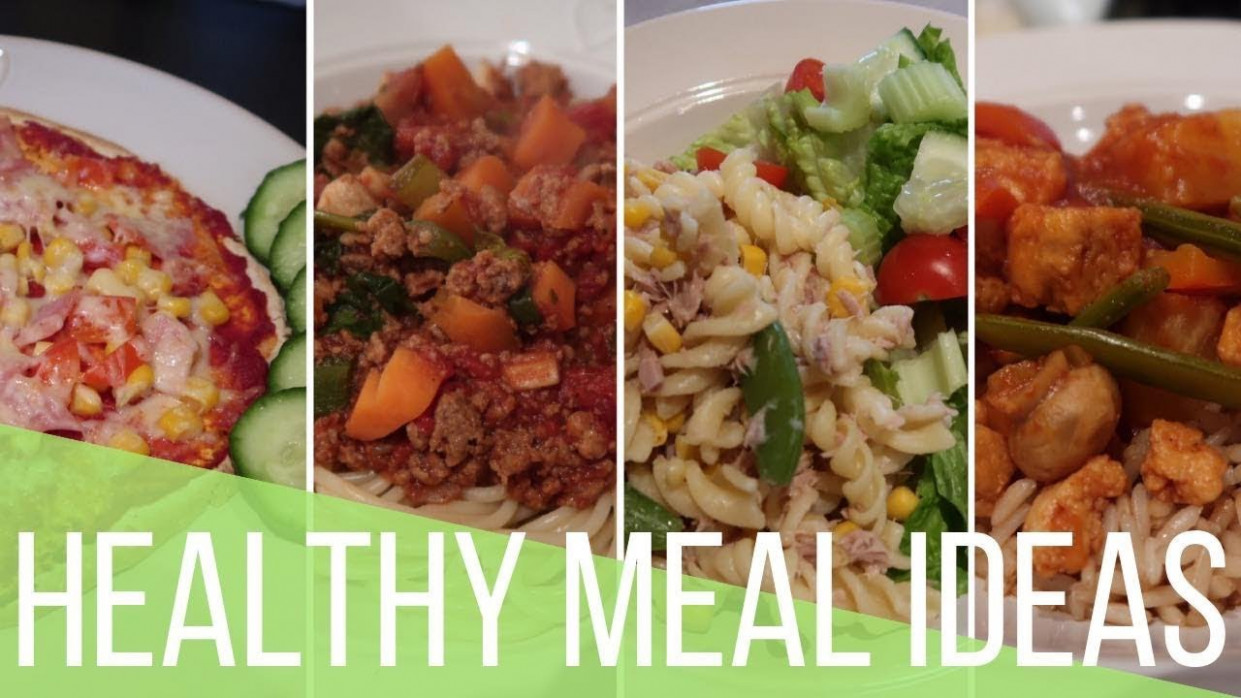 SLIMMING WORLD MEAL IDEAS // EASY & QUICK HEALTHY LUNCH & DINNER INSPIRATION - dinner recipes slimming world
