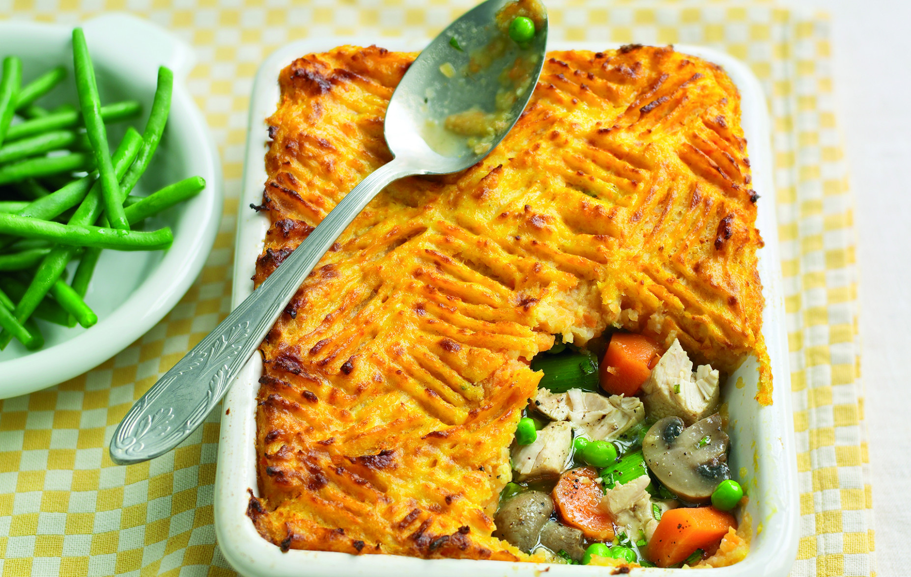 Slimming World's chicken and leek pie - dinner recipes slimming world