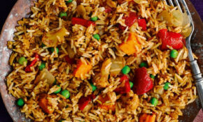 Slimming World vegetarian recipes – Vegetable biryani ...