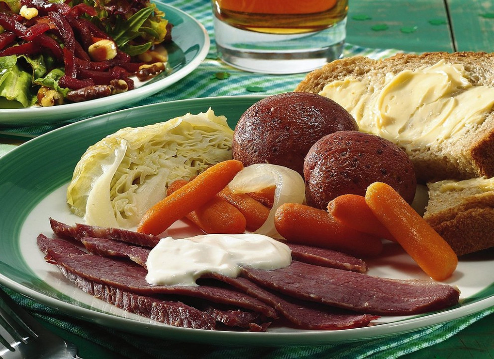 Slow-Cooked Corned Beef and Cabbage Dinner Recipe - recipes dinner beef