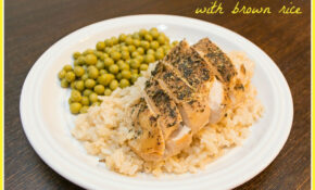 Slow Cooked Lemon Chicken With Brown Rice – THM E Meal ..