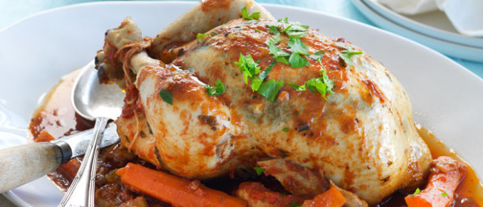 Slow Cooked Whole Chicken | Food in a Minute - recipes nz chicken