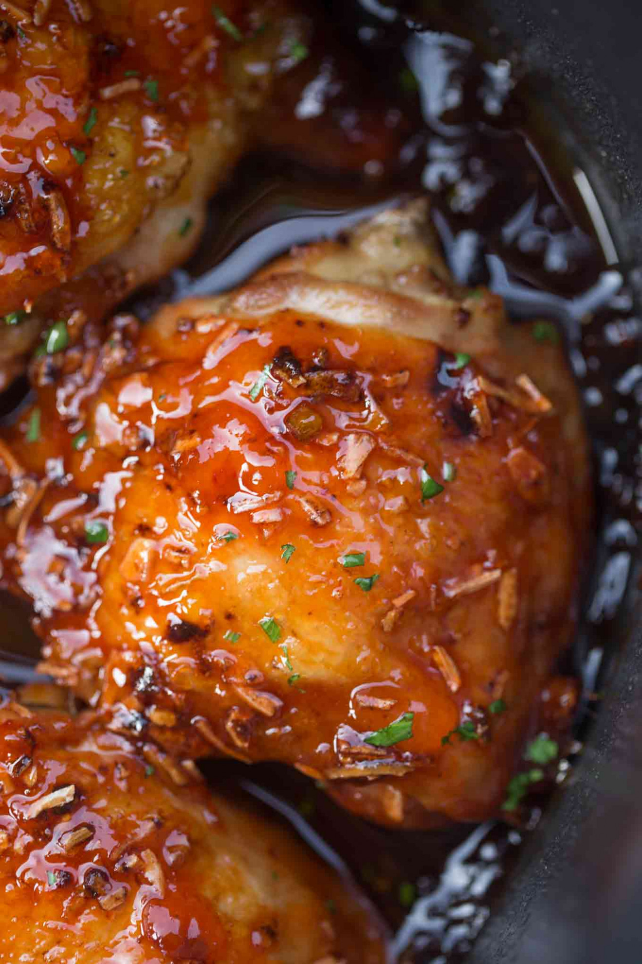 Slow Cooker Apricot Chicken - chicken recipes in slow cooker