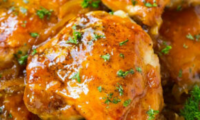 Slow Cooker Apricot Chicken – Dinner At The Zoo – Chicken Recipes Slow Cooker