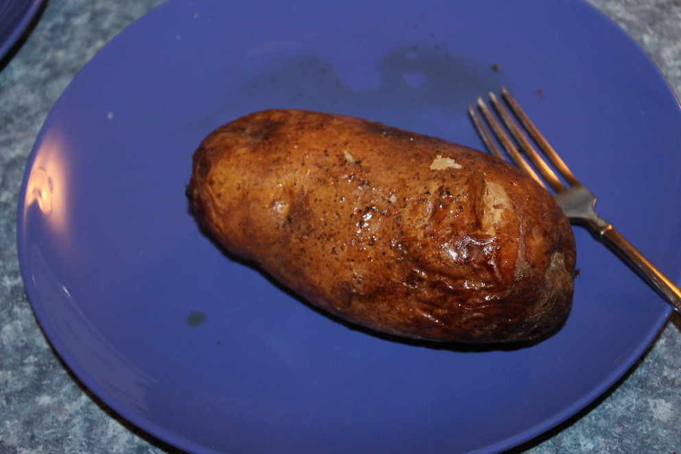 Slow Cooker Baked Potatoes - Recipes Slow Cooker Healthy