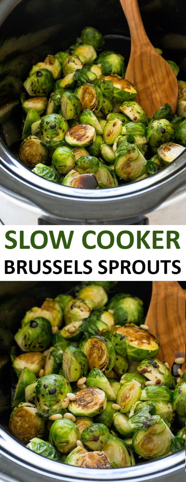 Slow Cooker Balsamic Brussels Sprouts | Recipe | Recipes ..