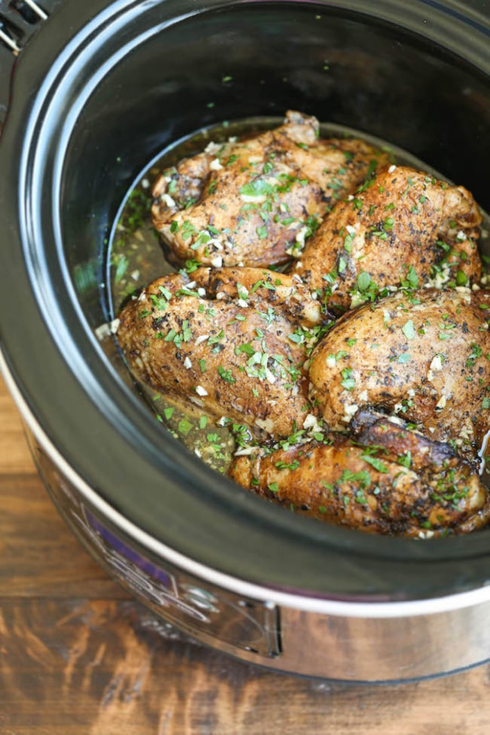 Slow-Cooker Balsamic Chicken Breasts | One-Pot Italian ..