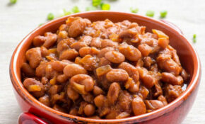 Slow Cooker BBQ Baked Beans – IFOODreal – Recipes Vegetarian Baked Beans