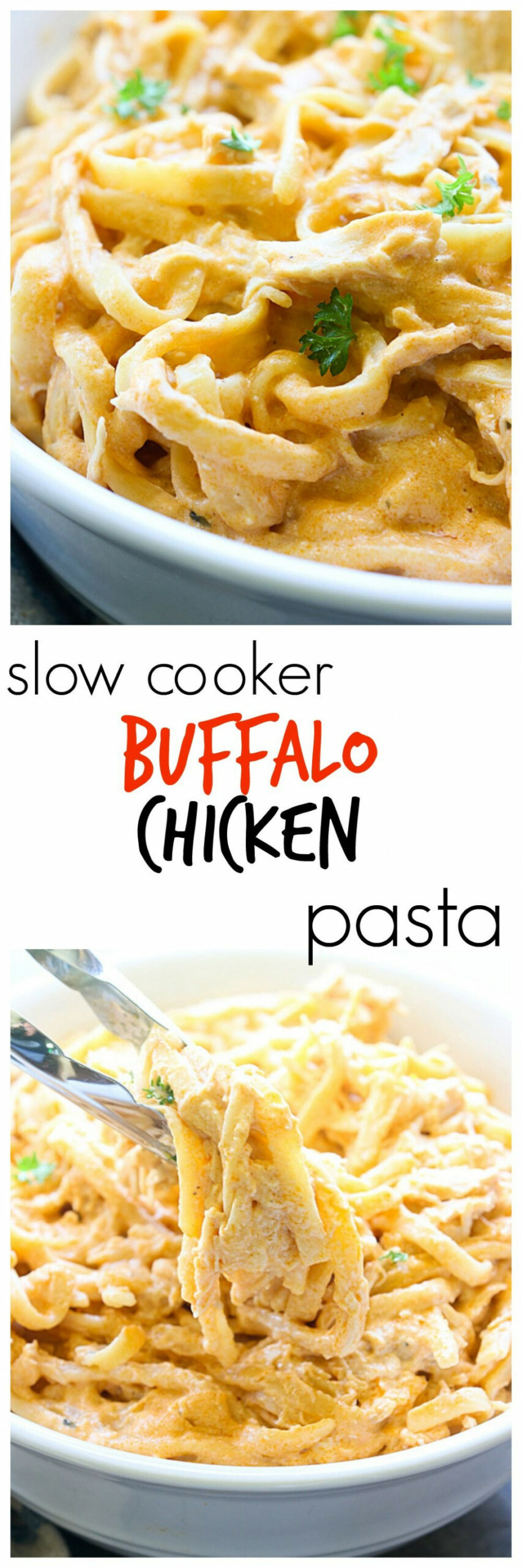Slow Cooker Buffalo Chicken Pasta | Recipe | Chicken ..