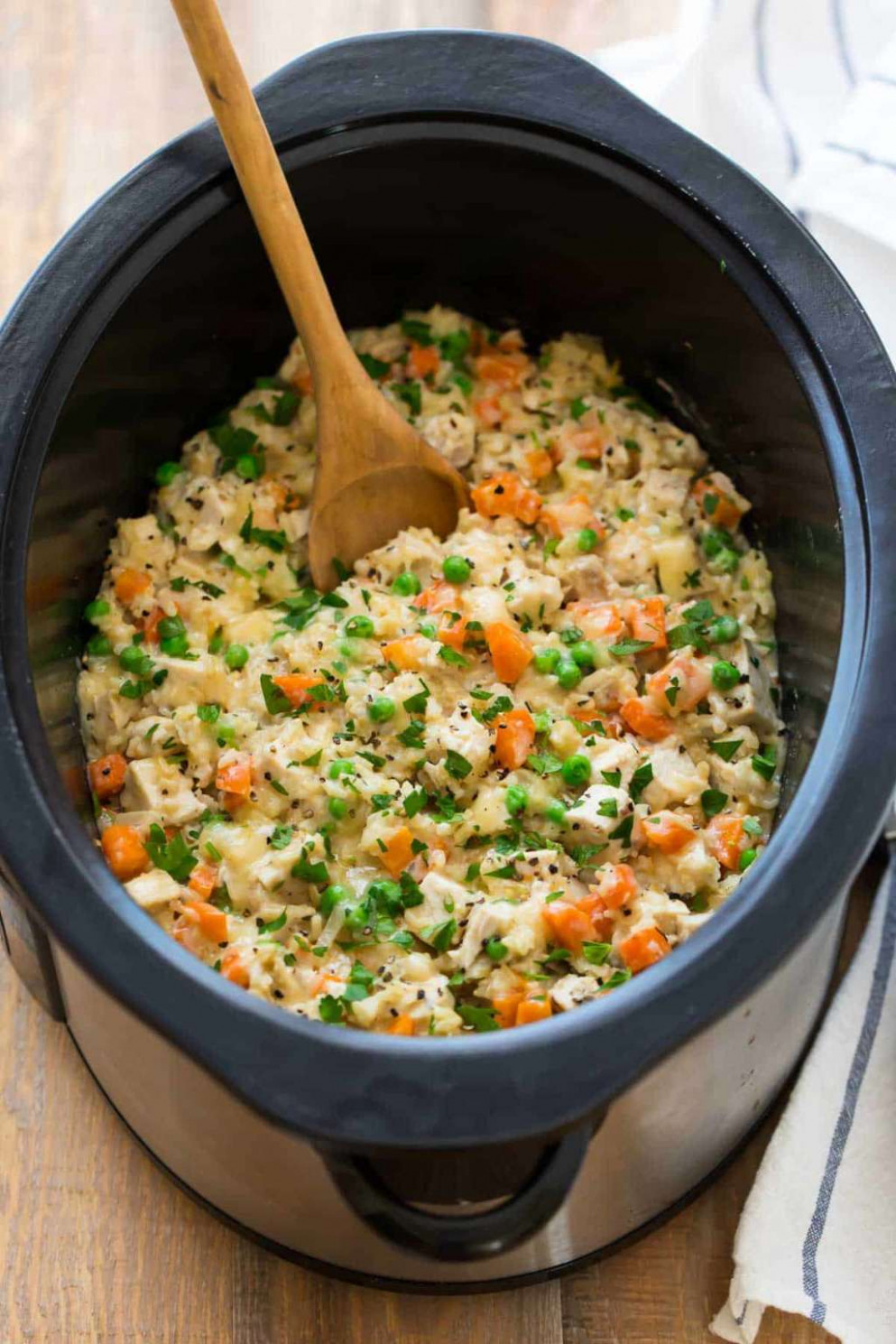 Slow Cooker Chicken and Rice - Well Plated | Kitchn - recipes slow cooker healthy