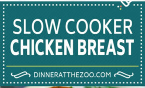 Slow Cooker Chicken Breast with Gravy - Dinner at the Zoo
