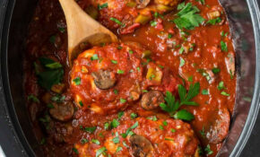 Slow Cooker Chicken Cacciatore | Easy, Healthy Recipe – Slow Cooker Recipes Chicken Breast