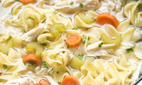 Slow Cooker Chicken Noodle Soup – Easy Slow Cooker Recipes Chicken