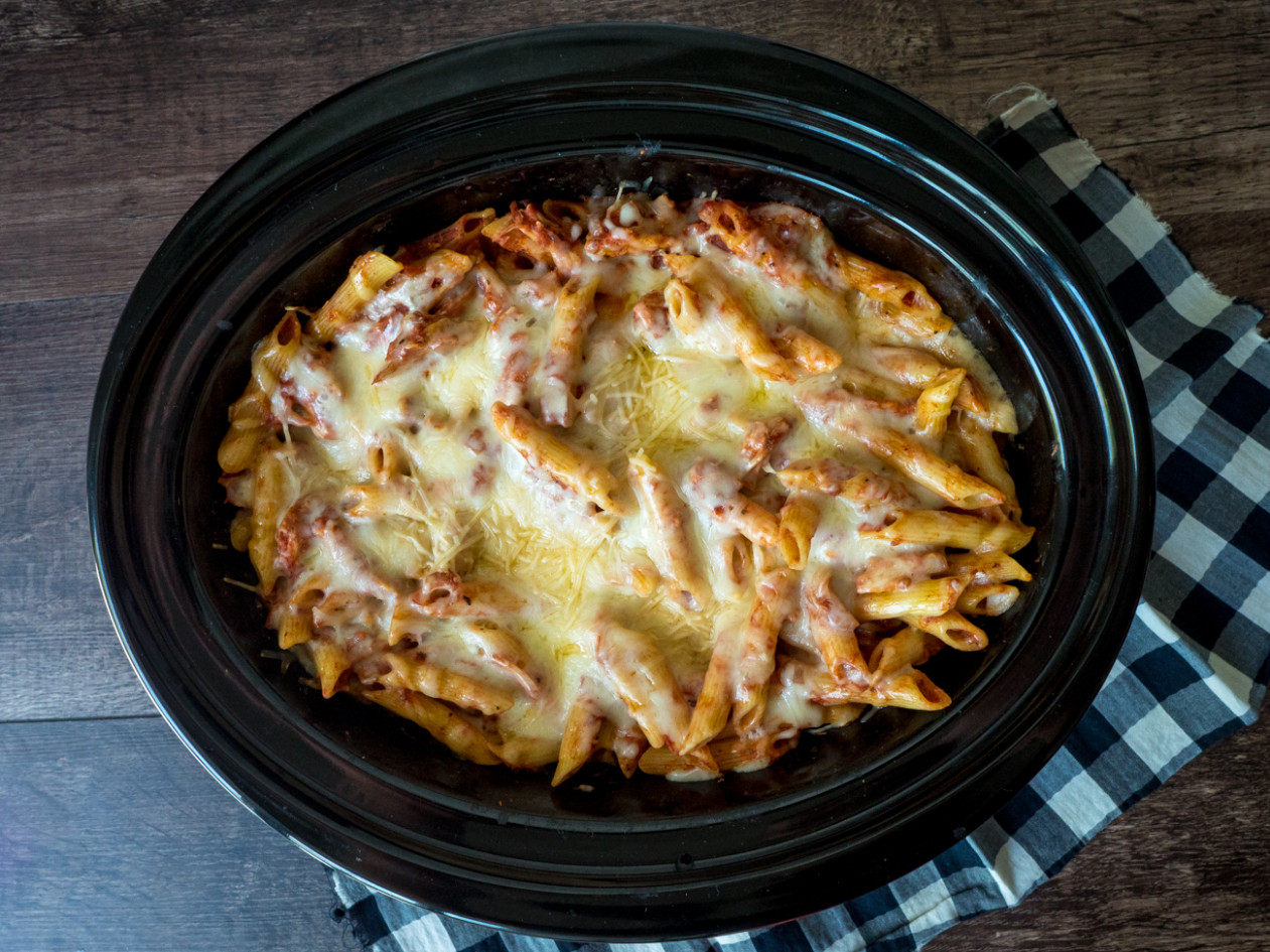 Slow Cooker Chicken Parmesan Pasta - slow cooker recipes chicken breast