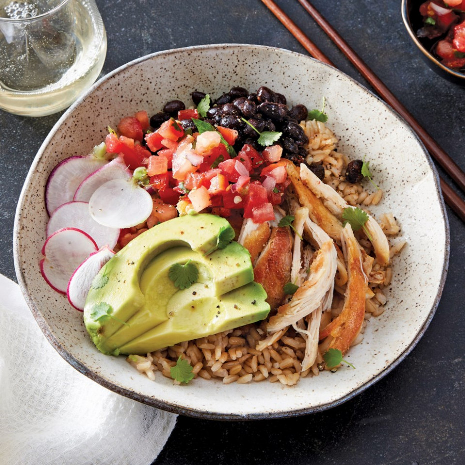 Slow Cooker Chicken & Rice Bowls - Uncle Ben Rice Recipes Chicken