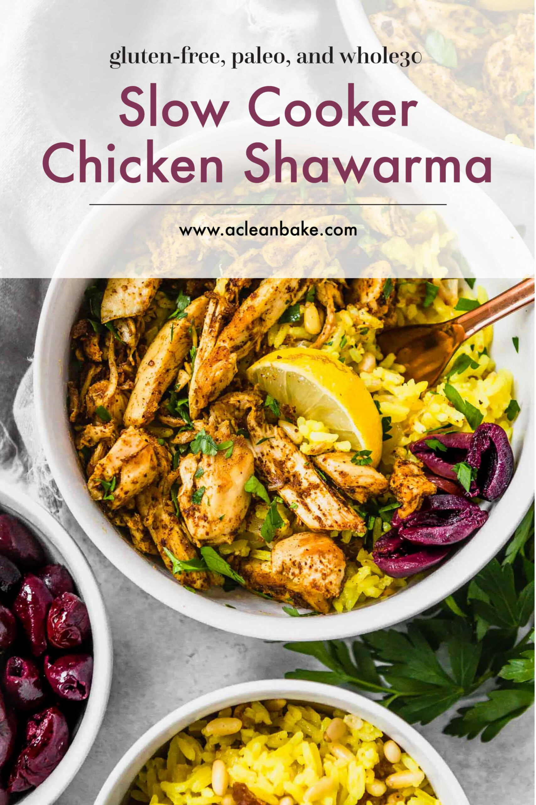 Slow Cooker Chicken Shawarma - Chicken Recipes Slow Cooker