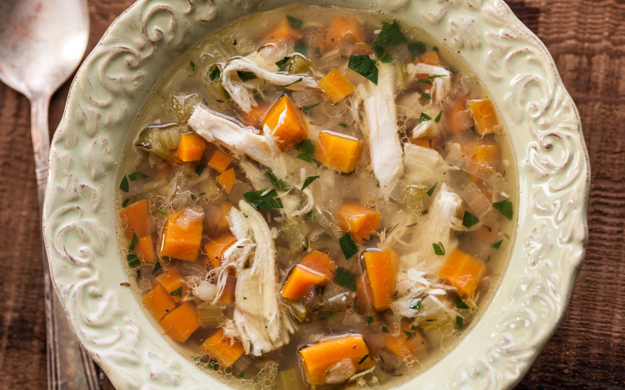 Slow Cooker Chicken Soup - Crock Pot Recipes - Pictures ..