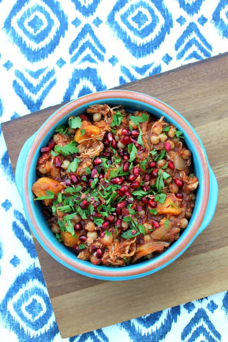 Slow Cooker Chicken Tagine with Sweet Potato - BakingQueen74 - uk slow cooker recipes chicken