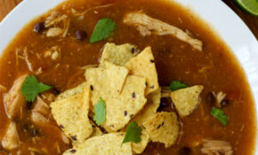 Slow Cooker Chicken Tortilla Soup – Mexican Recipes Chicken