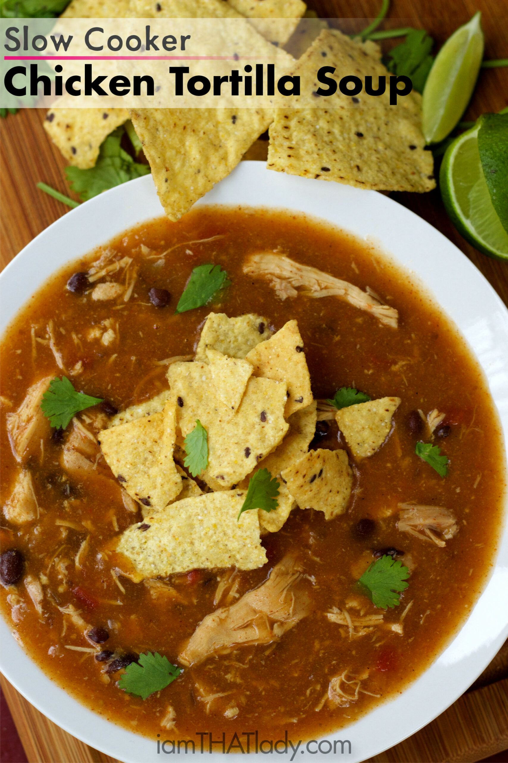 Slow Cooker Chicken Tortilla Soup - mexican recipes chicken