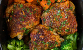 Slow Cooker Chicken With Sweet Potatoes And Broccoli – Uk Slow Cooker Recipes Chicken