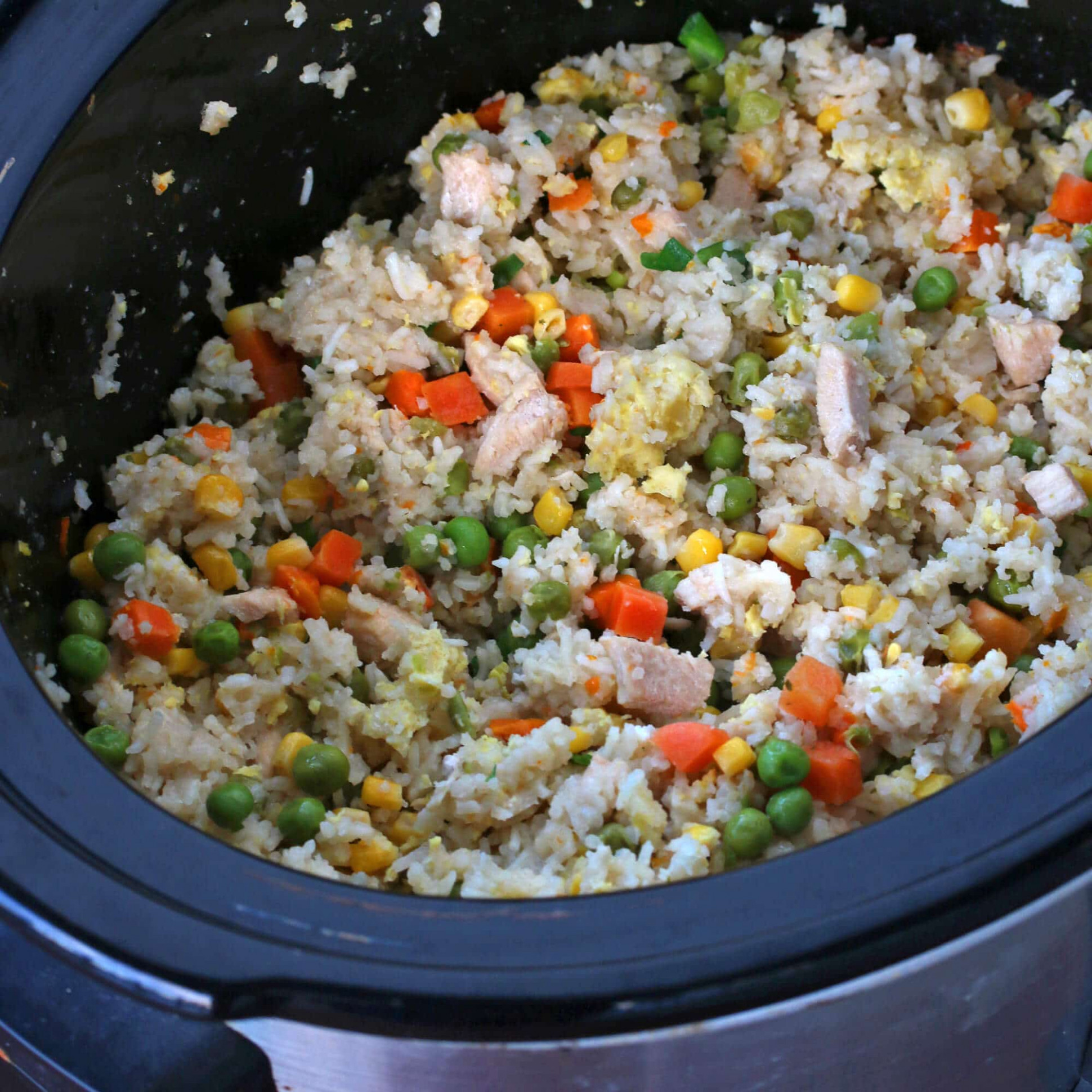 Slow Cooker Chinese Fried Rice - recipes crock pot vegetarian