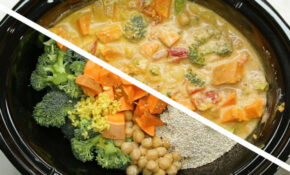 Slow Cooker Coconut Curry Recipe By Tasty – Slow Cooker Recipes Healthy Vegetarian